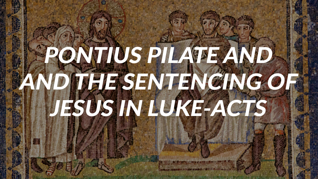 sentenced to death pontius pilate essay Pontius pilate, after silence from his new friend, herod, formerly an enemy, is the one who sentenced christ to death hence, again, he was crucified under pontius pilate yet, is only pilate guilty of this.